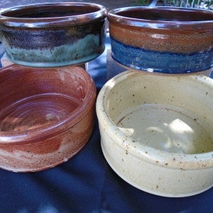Plain Dog Bowl Collection
