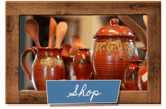 Shop online for elegant and rustic ceramic pottery and gifts Castroville Pottery